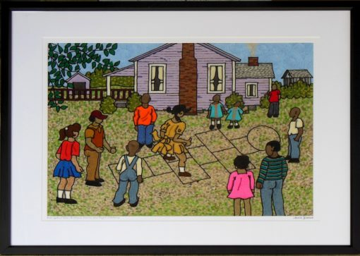 Once Upon a time Childrens games were played outdoors