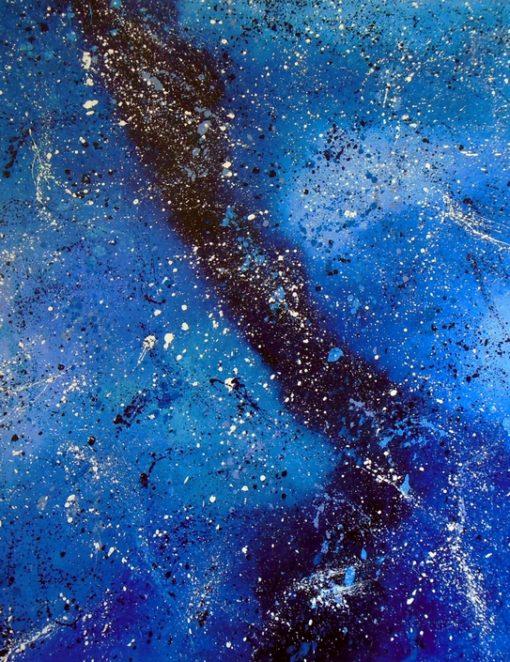 Jaasiel Barrientos Seeker - Oil on gallery wrapped canvas 30x40 $700