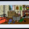 SOLD Once Upon a time People bathed in Tin tubs on Saturdays nights