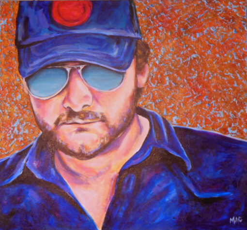 Eric Church by Thea McElvy