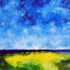 Landscape #3 Oil on gallery wrapped canvas 18x24 $400