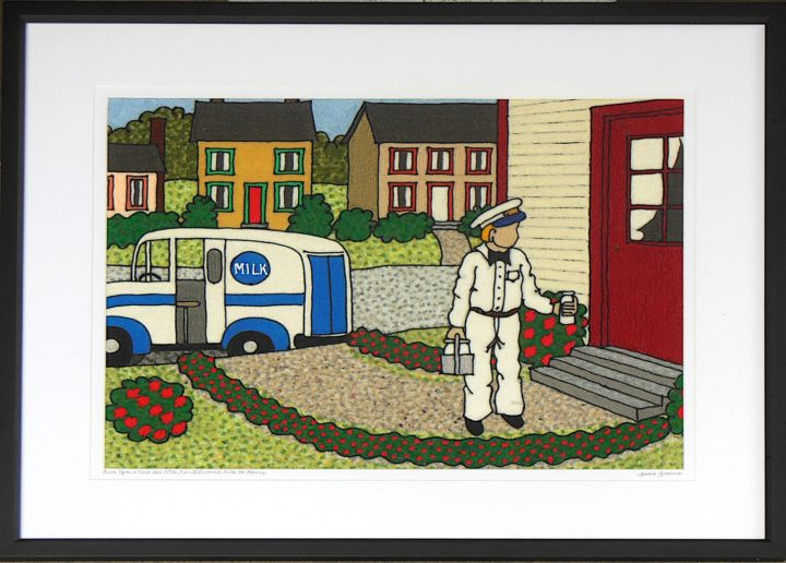 Once upon a time the milkman delivered milk to houses