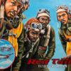 """Thea McElvey - Tuskegee Airmen, Red Tails - Acrylic on Canvas 24"""" x 36"""" $400"""