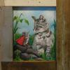 Kim Ramey En Guard 17x15 Acrylics