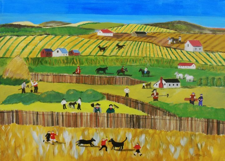 Mike Ottensmeyer Country Spring Time 18x24 Acrylics $350