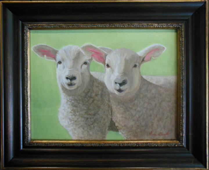 Mutton Buston Time by Miriam Rowell 16x13 $195