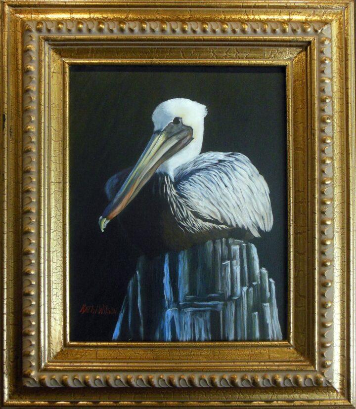 Kathi Wilson Pelican 18x22 $175
