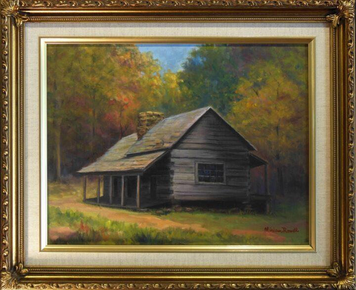 Smokey Mountians by Miriam Rowell 18x15 $325