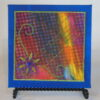 Tiny quilt on canvas #1 by JoAnn Camp