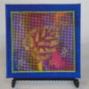 Tiny quilt on canvas #5 by JoAnn Camp