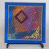 Tiny quilt on canvas #6 by JoAnn Camp