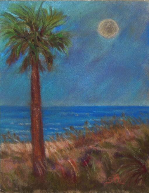 Evening at the Beach unframed