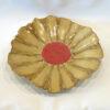 Flower Bowl-Tray Golden