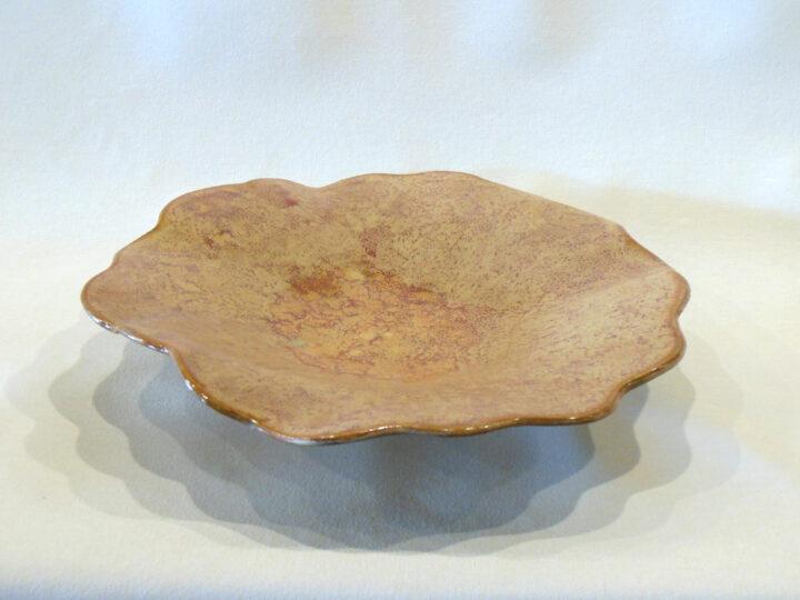 Round Bowl-Tray Beige