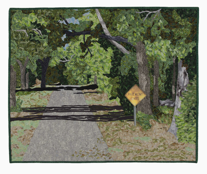 JoAnn Camp - Where the Pavement Ends -25x30