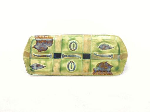 Rectangular tray Peridot Green