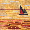 JoAnn Camp Sailing 16x16