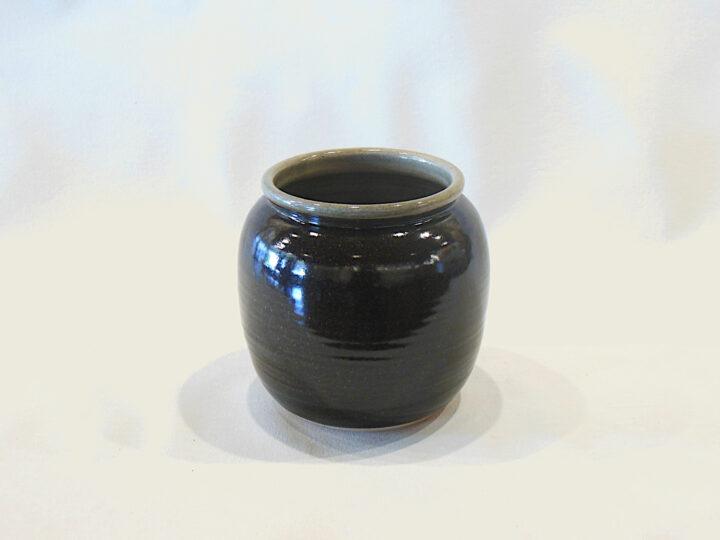 Allen Gee Open Vase Dark Brown (Wide)