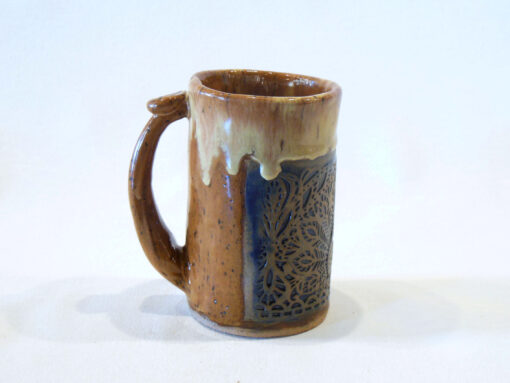 Andrea Faye Peacock Engraved Mug left