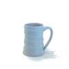 Jennifer Stott White Coffee Mug with swirls