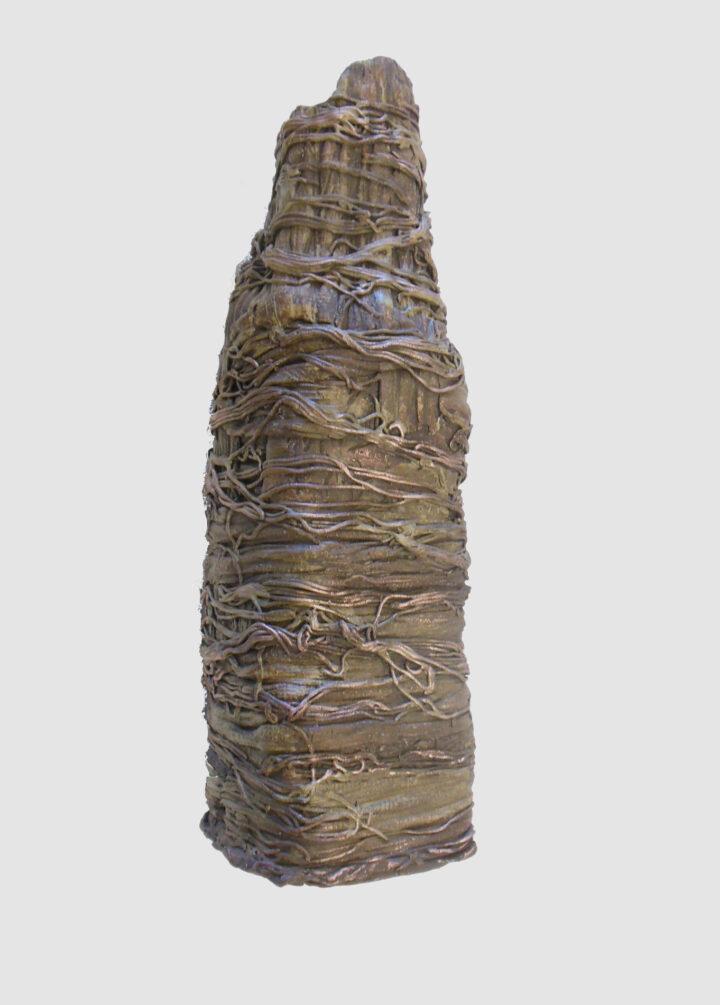 Janet McGregor Dunn Tall Vase Metalic 2