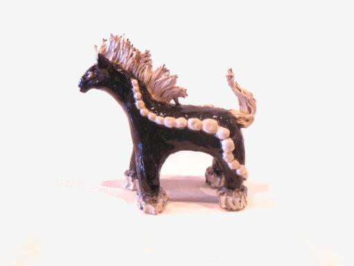 Marilyn Austin Black Horse left