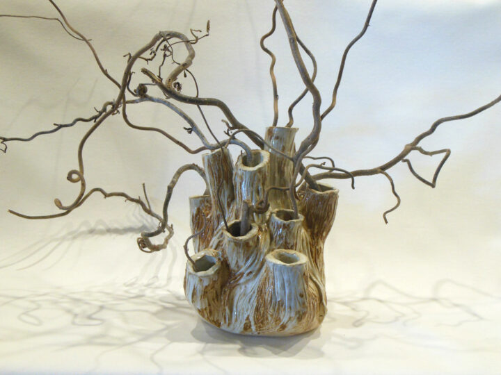 Marilyn Austin Coral Vase Front