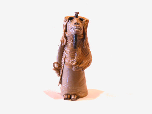 Marilyn Austin Egyptian Mummy Front