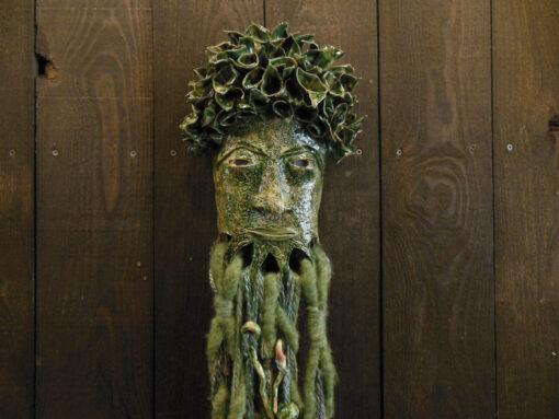 Marilyn Austin Green Mask 2 Face