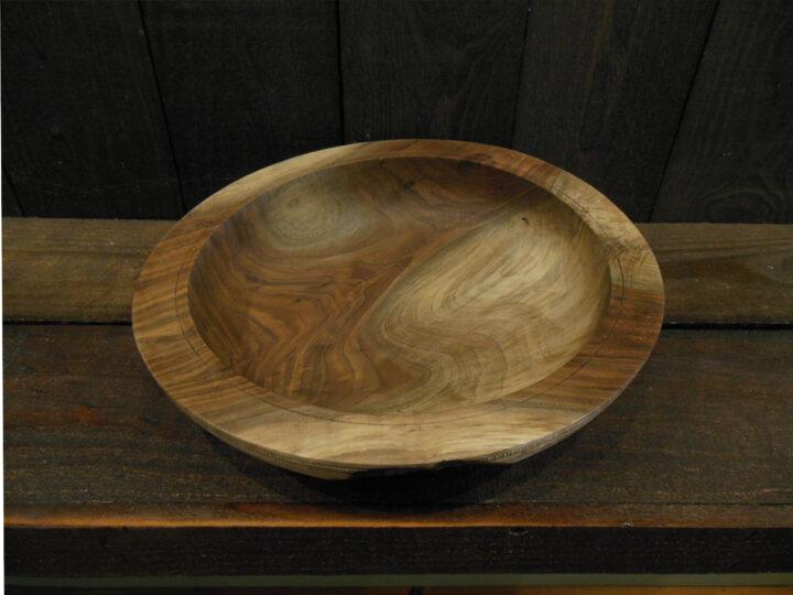 Black Walnut Bowl by Ken Lever