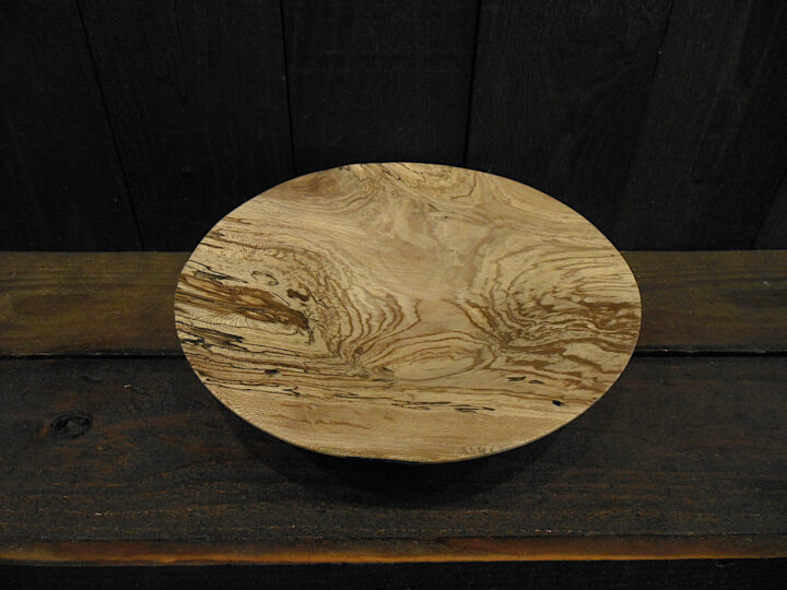 Fluted Bowl Sycamore by Ken Lever