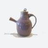 Stoneware Tea pot Calico by Bobby Vaillancourt