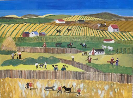 Busy Day on the Farm by Michael Ottensmeyer