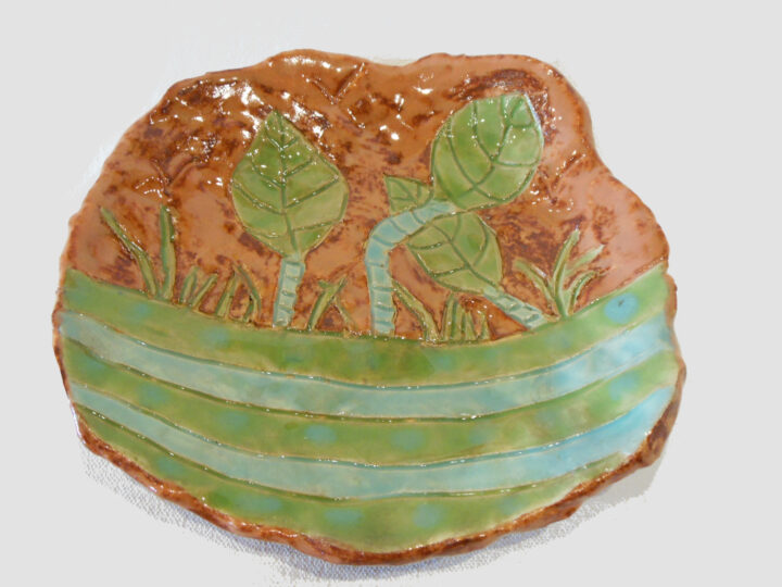 Hand Made Dish by Jeanine Bradfield front