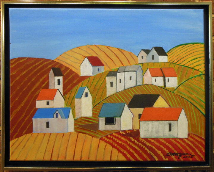 Multicolored Countryside by Michael Ottensmeyer