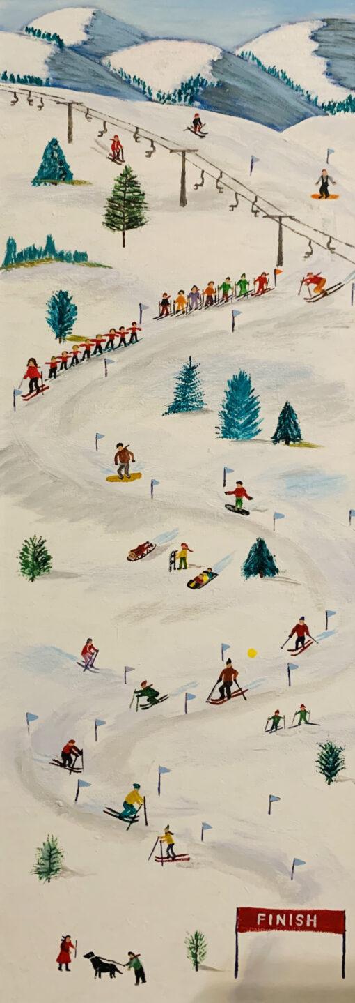 Ski School by Michael Ottensmeyer