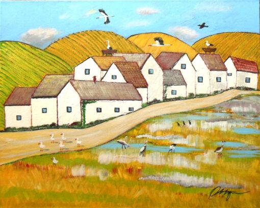 Storks by Michael Ottensmeyer