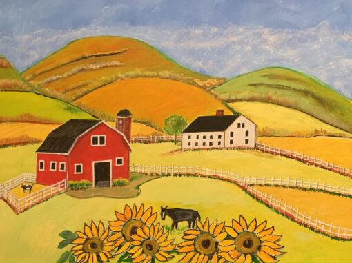 Sunflower Farms by Michael Ottensmeyer