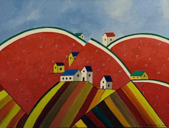 Whimsical Watermelon Farm by Michael Ottensmeyer