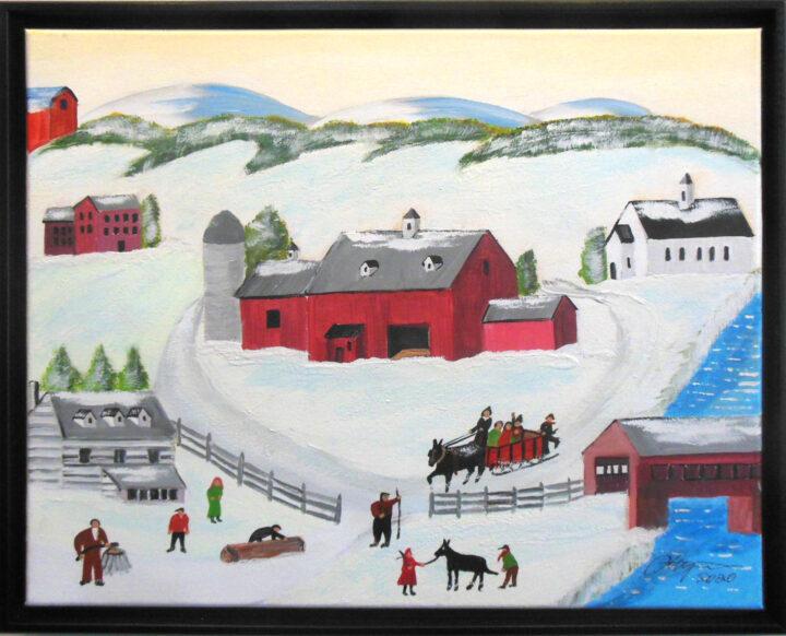 Winter Fun on the Farm by Michael Ottensmeyer