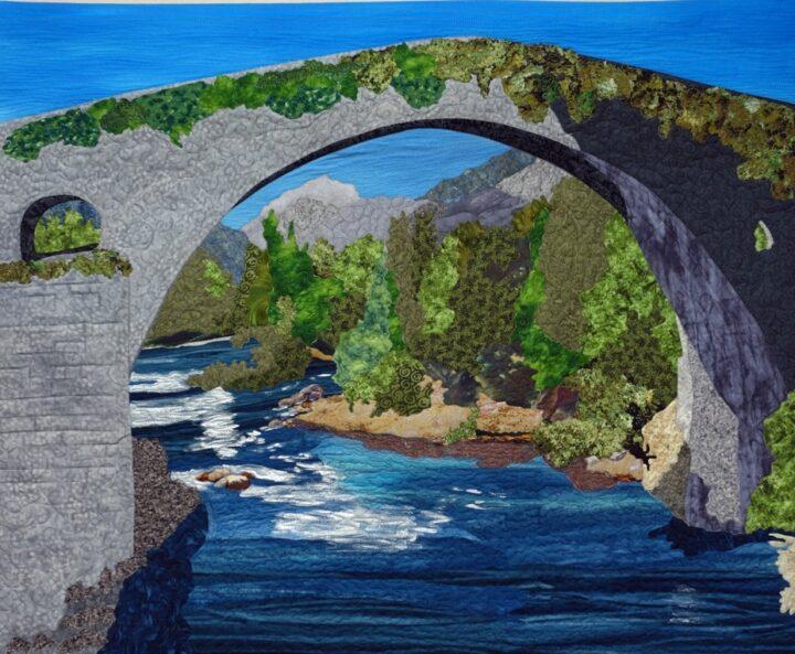 El Puente Romano by JoAnn Camp