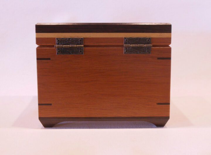 Full size recipe box by Mike Riedel back