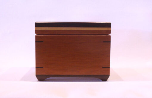 Full size recipe box by Mike Riedel front closed