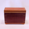 Half size recipe box by Mike Riedel front closed