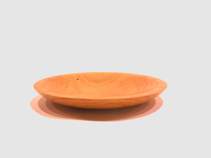 Oak Plate by Harold Lawrence side HL32
