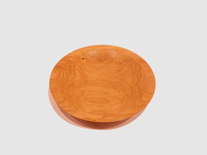 Oak Plate by Harold Lawrence top HL32