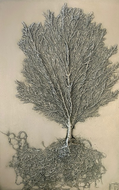 Discovering My Roots by Dianne Cutler Lemon Cypress