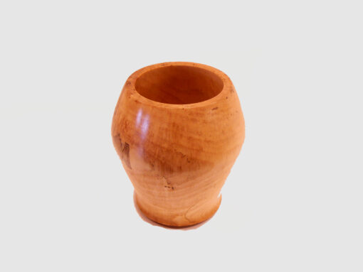 Saplted Maple Vase by Harold Lawrence Top HL18