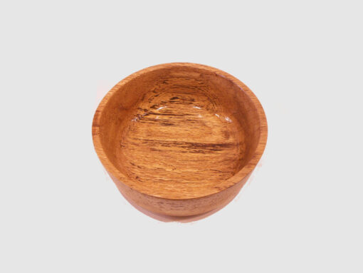 Splated Oak Bowl by Harold Lawrence top HL09