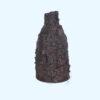 Woven Vase Dark Brown with Screws by Janet McGregor Dunn